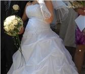 Фотография в Одежда и обувь Свадебные платья Продам красивое свадебное платье белое,  в Алапаевске 4000