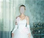 Foto в Одежда и обувь Свадебные платья Продаю свадебное платье   р 42 44   на рост в Москве 10000