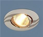 Foto в Мебель и интерьер Светильники, люстры, лампы Лампа: Mr16 G5.3, max 50 ВтРазмер: Ø 90 ммВырезное в Череповецке 120
