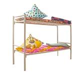 Фото в Мебель и интерьер Мебель для спальни Кровати металлические двухъярусные и одноярусные, в Москве 0