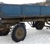 Изображение в Авторынок Бортовой прицеп Продам Прицеп тракторный самосвальный 2ПТС-4, в Новосибирске 80000