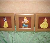 Изображение в Для детей Детские игрушки Продаю 3 картины в детскую комнату за 250р/Очень в Москве 250
