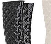 Foto в Одежда и обувь Женская обувь Новые резиновые сапоги, р-р 37, на каблуке, в Челябинске 1000