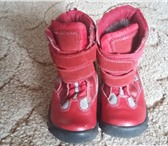Фото в Для детей Детская обувь Сапожки на липучках,теплые. размер 25. В в Туле 550