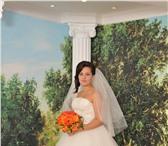 Фотография в Одежда и обувь Свадебные платья Продаю свадебное платье цвет шампань состояние в Чебоксарах 6000