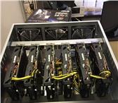 Фотография в Компьютеры Компьютеры и серверы Фермы для майнинга криптовалют!Товар в наличии.Принимаем в Новосибирске 204000