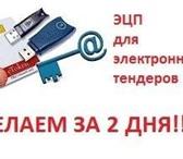 Изображение в Компьютеры Разное ЭЦП для торгов ПОД КЛЮЧ за 2 дня по всей в Москве 8000