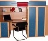 Фотография в Мебель и интерьер Мебель для детей Детская стенка Приют-люкс бук/синий 2350*840*1700.В в Москве 13000