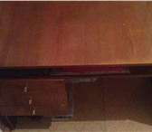Изображение в Мебель и интерьер Мебель для детей Полированный письменный стол в хорошем состоянии.Полировка в Чебоксарах 600