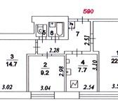 Foto в Недвижимость Комнаты Комната в трехкомнатной квартире, ищет нового в Москве 1700000