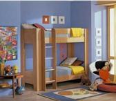 Foto в Мебель и интерьер Мебель для дачи и сада Кровать двухъярусная + матрасМодель двухъярусной в Москве 9672