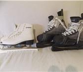 Фото в Спорт Спортивная одежда 1)- КОНЬКИ ХОККЕЙНЫЕ MELIOR M-300Хоккейные в Пензе 3200