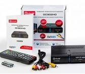 Foto в Электроника и техника DVD плееры Цифровой эфирный приемник DVB-T2 для просмотра в Чебоксарах 1000