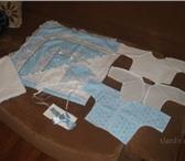 Foto в Одежда и обувь Детская одежда Продам комплект на выписку для мальчика (голубого в Новосибирске 700