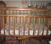Foto в Для детей Детская мебель Продам кроватку маятник вместе с матрасом в Астрахани 3500