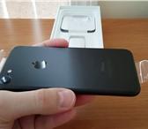 Фото в Телефония и связь Мобильные телефоны В продаже iPhone 7; black mate; 32Gb; Полный в Москве 20000