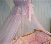 Фотография в Для детей Детская мебель Продаю детскую кроватку с балдахином  для в Шумерля 0
