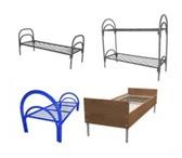 Фотография в Мебель и интерьер Мебель для спальни Металлические кровати двухъярусные реализуем в Новосибирске 900