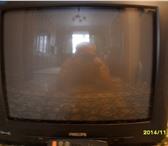Фотография в Электроника и техника Телевизоры Цветной телевизор ЭЛТ Philips 21GX3566 диаг.54см. в Рязани 3000