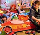Фотография в Мебель и интерьер Мебель для детей Детская КРОВАТЬ-МАШИНКА - мечта любого ребенка! в Набережных Челнах 7000