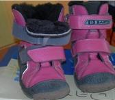 Foto в Одежда и обувь Детская обувь Продам красивые зимние ботинки для девочки. в Новосибирске 1100