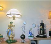 Фото в Мебель и интерьер Светильники, люстры, лампы Настольные лампы из натурального камня малахит,обсидиан в Екатеринбурге 53000
