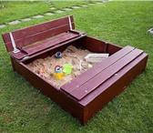 """Фотография в Для детей Детская мебель """"Самая Лучшая Компания"""" предлагает Вам песочницу, в Владивостоке 7000"""