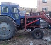 Foto в Авторынок Трактор Продам трактор Т-40 с косилкой и куном. Документы в Челябинске 150000