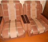 Фотография в Мебель и интерьер Мягкая мебель Продаю два кресла на колёсиках, состояние в Рыбинске 5500